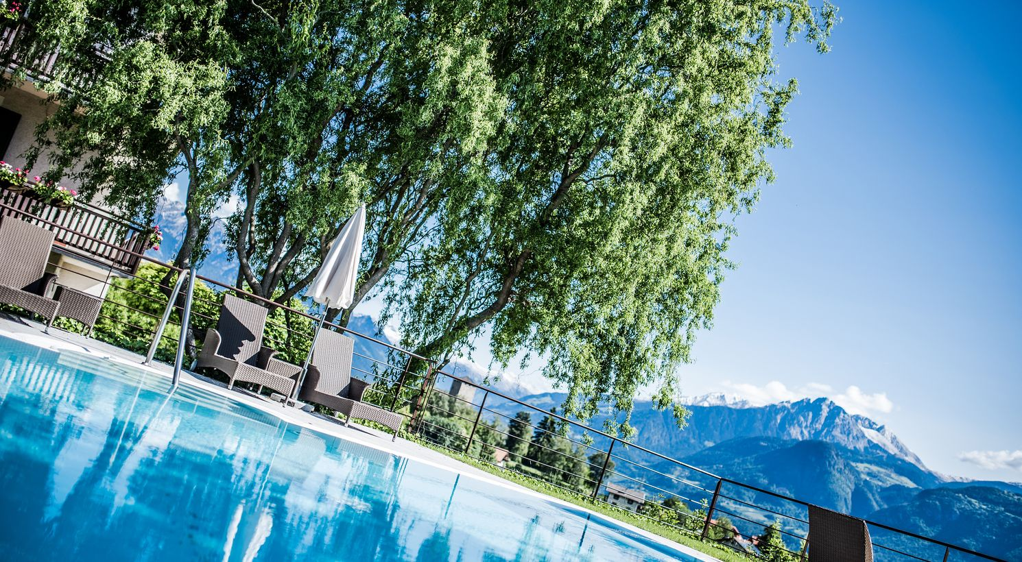 Accommodation Foiana Lana with outdoor pool